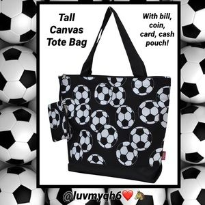 Handbags - Large Soccer Tote Bag
